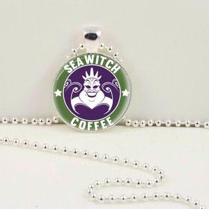 Ursula Coffee Pendant